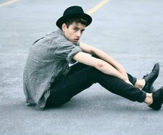 Streets streetstyle hat fashion men tumblr style jeans shirt rolled up sleeve hipster.
