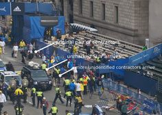 "Activist Post: ""Contractors"" at Boston Marathon Stood Near Bomb, Left Before Detonation"