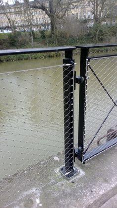 Jakob Webnet balustrade in-fill at Bath Western Riverside