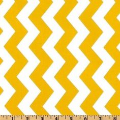 Wide Michael Miller Summer Soiree Chevron Yellow/White Fabric By The Yard Textile Patterns, Textiles, Sewing Crafts, Sewing Projects, Yellow Chevron, Michael Miller Fabric, White Fabrics, Fabric Design, Quilts