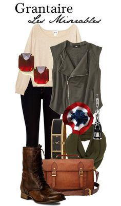 """Grantaire - Les Miserables"" by thebroadwaywardrobe ❤ liked on Polyvore"