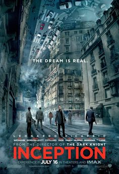 """Infinite Art Tournament: At the Movies: """"Inception"""""""