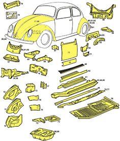 Bug rust repair parts