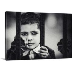Canvas On Demand The Closed Door by Piet Flour Photographic Print on Canvas Size: