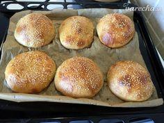vyvaľkáme Hamburger, Bread, Food, Basket, Brot, Essen, Baking, Burgers, Meals