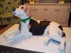 this is a dog and a cake. and a cake and a dog. i don't think i could eat it.