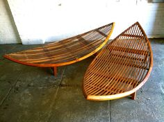 Bali Teak Wood Poolside Hammocks by FunkyLuxe