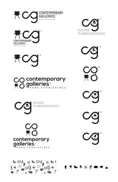 Vest Advertising, Marketing and Public Relations // Contemporary Galleries Logo //  Contemporary Galleries // Amber Stanton
