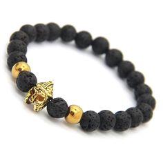 Enhance your wrist with these beautiful Spartan Warrior Helmet bracelets.
