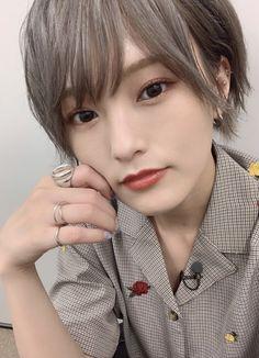 Yamamoto, Asian Woman, Photography Ideas, Cute Girls, Short Hair Styles, Idol, Cosplay, Japanese, Celebrities