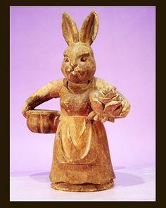 wood bunny