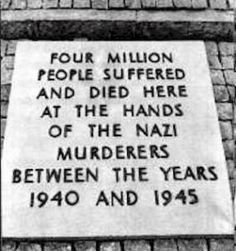 Auschwitz. Nothing said, no estimation offered, no measure of remorse can ever relay the horror that was birthed, nurtured, and sustained without conscience.