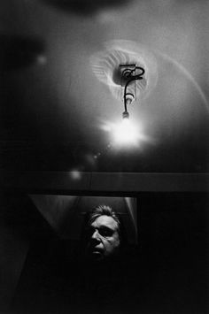 Artist Francis Bacon photographed by Arnold Newman, 1975 - NPG. - Getty Images. (fyi: On this day, 28 April, in 1992, Francis Bacon (1909-1992)  died in Madrid, Spain.