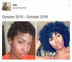 I'm ready to big chop Natural Hair Growth, Natural Hair Journey, Natural Hair Twa, Big Chop, Curly Hair Styles, Natural Hair Styles, Curls For The Girls, Pelo Afro, Transitioning Hairstyles