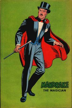 Mandrake the Magician: The Revised Edition - Comic Art Community Comic Book Characters, Comic Character, Comic Books Art, Fantasy Characters, Comic Art, Character Design, The Magicians, Magician Costume, Magic Illusions
