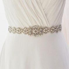 Category: Weddings > Bridal Accessories > Belts & Sashes Beautiful crystal sash, very high quality! I ultimately love this belt! I have already had my fitting and it looks fabulouson my wedding dress. Can't wait to wear this on my wedding day!! - Stephanie Embellish an beautiful wedding gown or bridesmaid dr