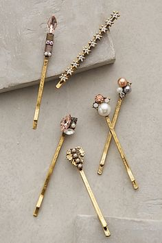 Starlight Pin Point Bobbys - anthropologie.com #anthrofave