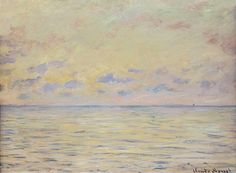 1882 Claude Monet - The sea at Pourville (Philadelphia Art Museum) https://hemmahoshilde.wordpress.com/2015/04/07/monet-wonderful-waterscapes/ <---- You're welcome to read more about the Pourville beach and other places Monet painted on my art blog :).