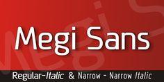Free Font Of The Day : Megi Sans