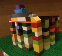 Greece Country Study - Homeschool Explorations Make a Lego Parthenon