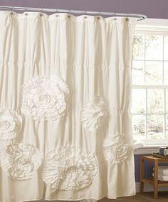 Classy Shower Curtain victoria classics black jansen shower curtain set | the o'jays