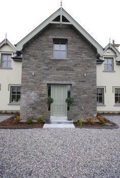 New House Exterior Ireland Posts Ideas Bungalow Haus Design, House Design, House Front, My House, Cottage House, Farm House, Modern Entry, Exterior Remodel, Exterior Doors