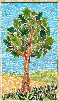 1000 Images About Mosaic Tile Leaf Patterns On Pinterest