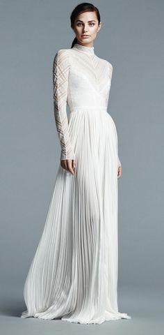 J Mendel Bridal Spring 2017 Wedding Dress   itakeyou.co.uk #weddingdress #weddingdresses #wedding #longsleeve #weddingdresses2017 #bridalgown #weddinggown