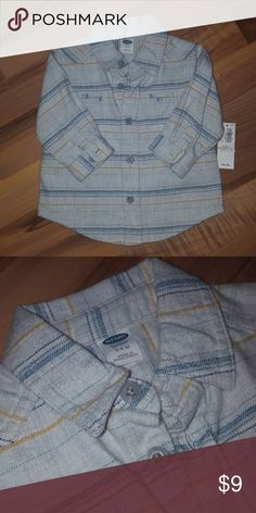 Baby Boys Old Navy Button-down Shirt Baby boys old navy Button-down shirt. NWT Old Navy Shirts & Tops Button Down Shirts