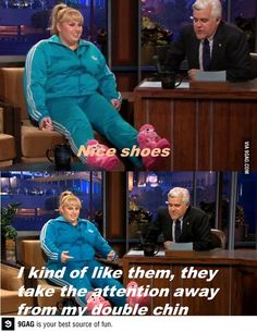 I love Rebel Wilson