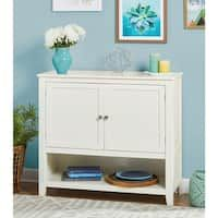 Shop for Simple Living Kendall Buffet. Get free delivery On EVERYTHING* Overstock - Your Online Furniture Shop! Entryway Storage Cabinet, Kitchen Storage, Storage Spaces, Buffet Server Table, Sideboard Table, Coffee Table With Drawers, Buffets, Simple Living, Adjustable Shelving