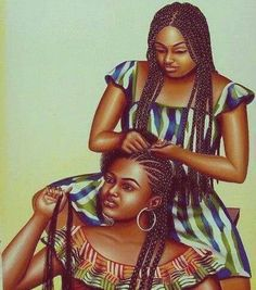 Box braids drawing - Home Black Love Art, Black Girl Art, Black Girls Rock, Black Is Beautiful, Black Girl Magic, Art Girl, Natural Hair Art, Pelo Natural, Natural Hair Styles