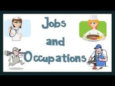 Talking about Jobs and Occupations: English Language - YouTube