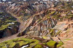 Breathtaking Aerial Landscapes of Iceland by Sarah Martinet landscapes Iceland aerial