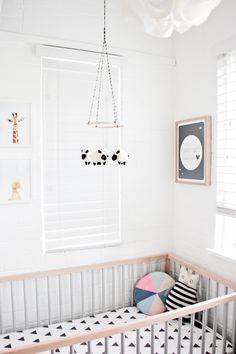 A fabulous round up of the most beautiful Modern Nursery Inspiration! Stay tuned to see what I pull from this inspo for my own nursery! Baby Bedroom, Nursery Room, Girl Nursery, Kids Bedroom, Nursery Decor, Nursery Ideas, Project Nursery, Boho Nursery, Animal Nursery