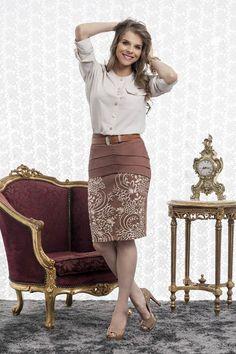 a170321f7b Resultado de imagen de clara rosa moda evangelica 2013 Moda Evangélica  Inverno