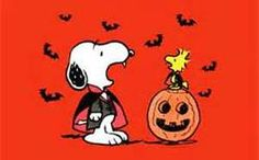 snoopy ad halloween