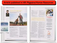 "My Article ""Choosing the Right Trainer"" on Human Resources Magazine #santhanaram"