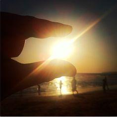 157. #veranoenandaluciaes poder coger el sol un atardecer cualquiera. By @Baul de Mariquilla