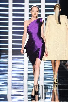 Fausto Sarli – 16 photos - the complete collection Purple Fashion, High Fashion, Purple Reign, Couture, Color Combinations, Fall Winter, Gowns, Formal Dresses, Collection