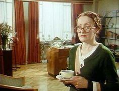 Miss Lemon in Poirot's Office