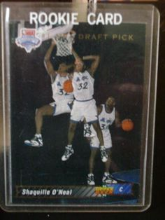1992-93 Upper Deck Shaquille O Neal Rookie Basketball Card  1 - Shipped In  Protective Display Case! at Amazon s Sports Collectibles Store b4744ff8c