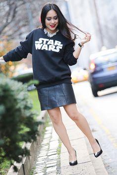 Star Wars Fashion. New York style. NYTrendyMoms.com #theforceawakens
