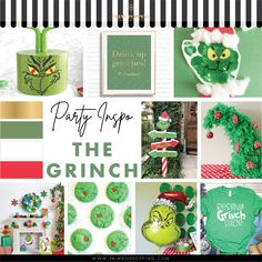 Party like a Grinchy Grinch and you'll be sure to make everyone as happy as the Whos down in Whoville. Dr. Seuss's How the Grinch Stole Christmas is a Christmas favourite for children and adults alike and this party is sure to make everyones heart grow at least three sizes!