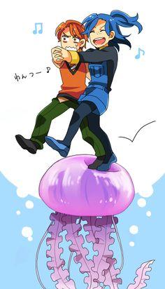 Nemo anime crossover.