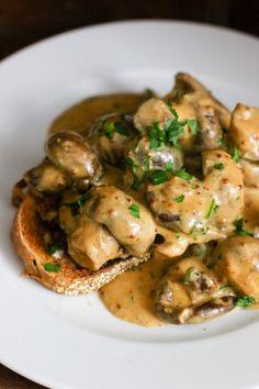 deviled mushrooms on toast deviled mushrooms on toast 100 saves