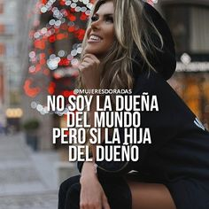 "2,370 Me gusta, 15 comentarios - MUJERES DORADAS  (@mujeresdoradas) en Instagram: ""@mujeresdoradas  Por eso no tenemos límites y somos capaces de hacer cualquier cosa buenos días y…"" Babe Quotes, Woman Quotes, Positive Quotes, Motivational Quotes, Inspirational Quotes, Quotes En Espanol, Successful Women, Godly Woman, Instagram Quotes"