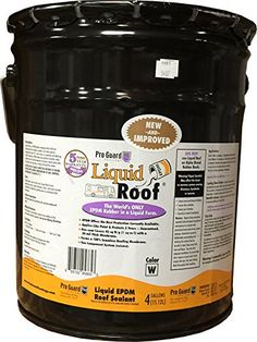 Liquid Roof RV Roof Coating and Repair 4 Gallon *** You can find out more details at the link of the image.