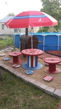 Patriotic spools