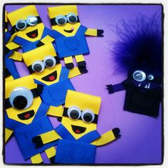 Minions Ribbon Sculpture Clip by CosiBellisimo on Etsy, $3.00